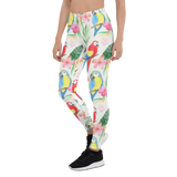 Womens Leggings & Activewear - Parakeets In Paradise | TopGurl Printed Athleisure - TOPGURL