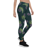 Womens Leggings & Activewear - Tropical Berry | TopGurl Printed Athleisure - TOPGURL