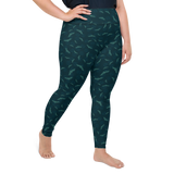 Plus Size Leggings & Yoga Pants - Bat Out Of Hell 2 | TopGurl High Waist Workout Printed Activewear Athleisure - TOPGURL