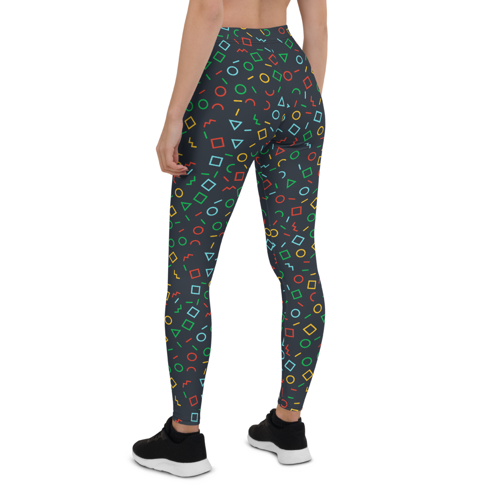 Womens Leggings & Activewear - Graffiti Time | TopGurl Printed Athleisure - TOPGURL