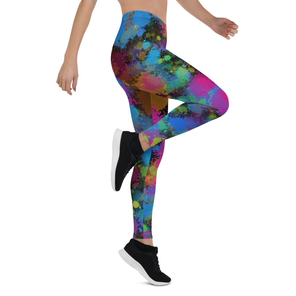 Womens Leggings & Activewear - Color Riot | TopGurl Printed Athleisure - TOPGURL