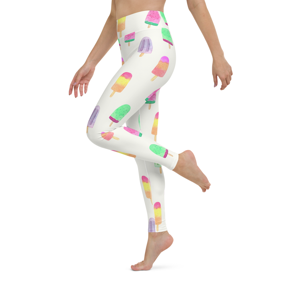Yoga Pants & High Waist Leggings - Ice Candy | TopGurl Workout Printed Activewear Athleisure - TOPGURL