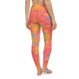 Yoga Pants & High Waist Leggings - Big Bang | TopGurl Workout Printed Activewear Athleisure - TOPGURL