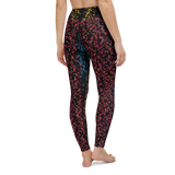 Yoga Pants & High Waist Leggings - Candy Cosmos | TopGurl Workout Printed Activewear Athleisure - TOPGURL