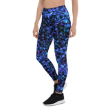 Womens Leggings & Activewear - Barb Wire | TopGurl Printed Athleisure - TOPGURL