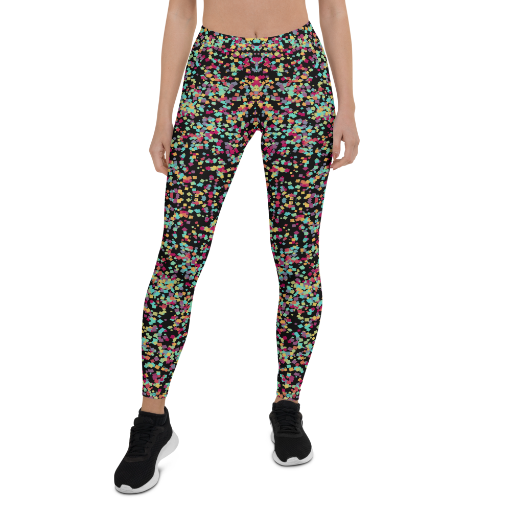 Womens Leggings & Activewear - Color Cosmos | TopGurl Printed Athleisure - TOPGURL