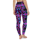 Yoga Pants & High Waist Leggings - Rave Psychedelia | TopGurl Workout Printed Activewear Athleisure - TOPGURL