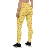Womens Leggings & Activewear - Pizza & Fast Food | TopGurl Printed Athleisure - TOPGURL