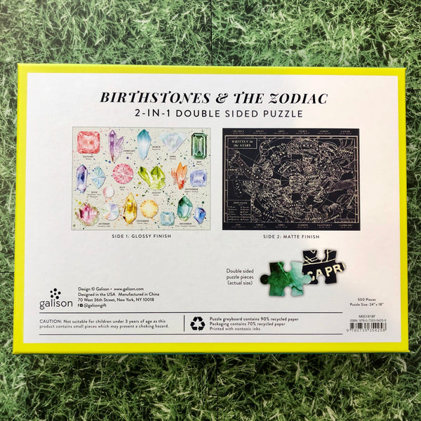 Birthstones & The Zodiac Puzzle