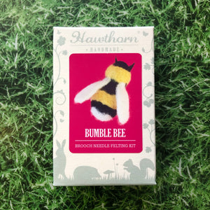 Bee Needle Felt Brooch Kit