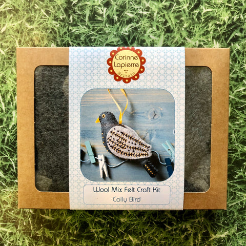 Calling Bird Mini Felt Kit