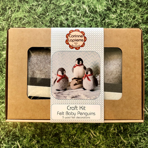 Baby Penguins Felt Kit