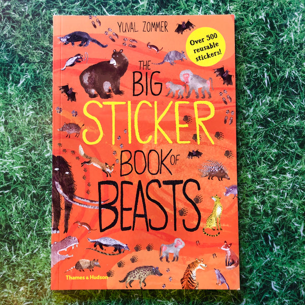 The Big Sticker Book Of Beasts