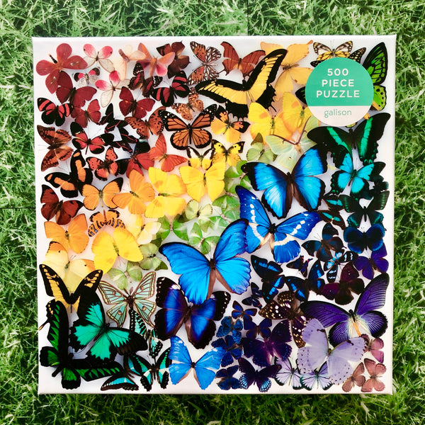 Rainbow Butterflies Puzzle
