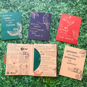 Milly Green Recycled Greetings Card Set