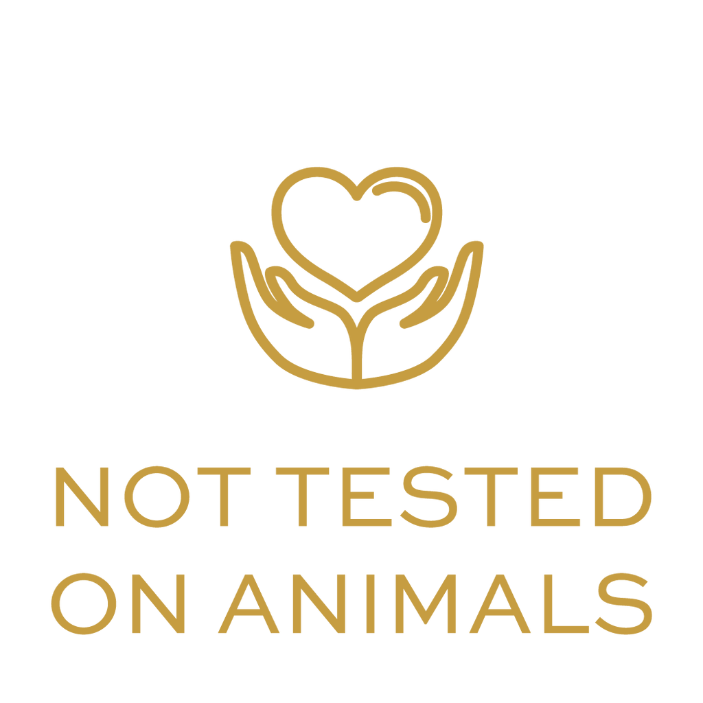 icon nutreeoil not tested on animals hands heart