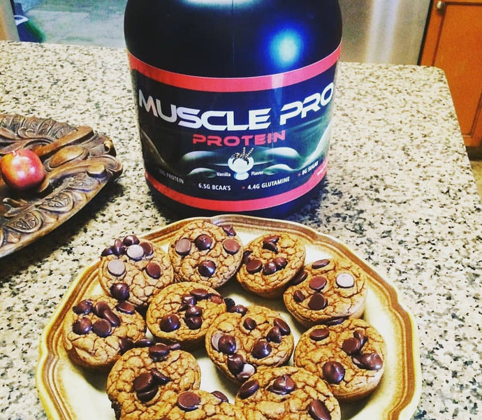 Muscle Pro Chocolate Chip Cookies