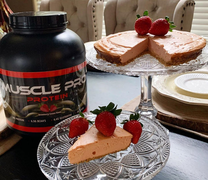 Muscle Pro Strawberry Cheesecake