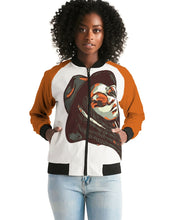 Load image into Gallery viewer, October Orange Head High Bomber Jacket
