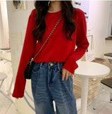 Korean Fashion Candy Color Blouses