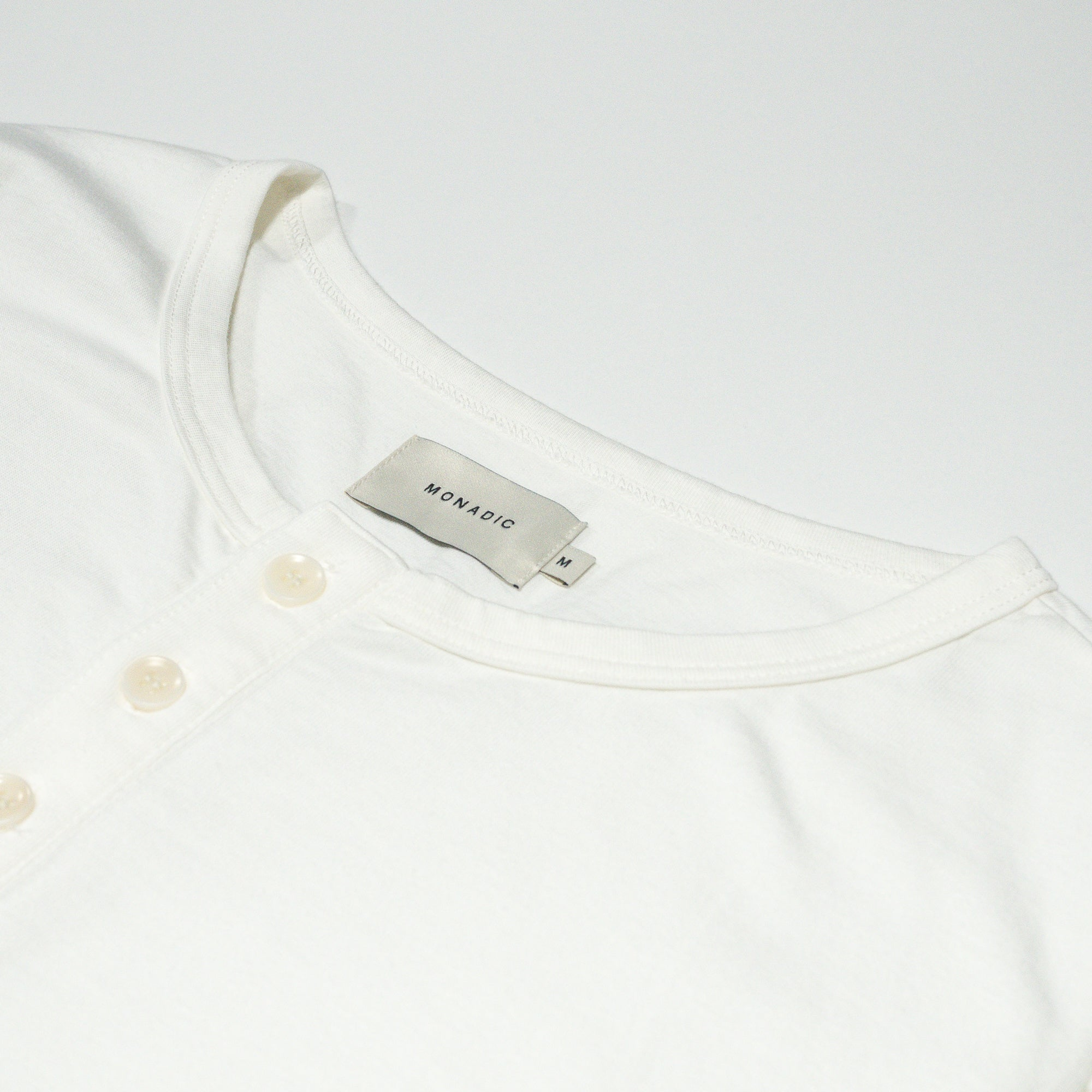 Basis Henley </br>Off White