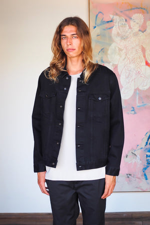 Lateral Denim Jacket </br>Black Wash