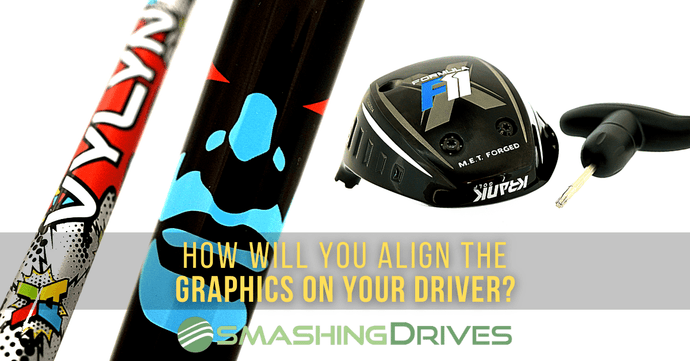 How will you align your driver shaft?