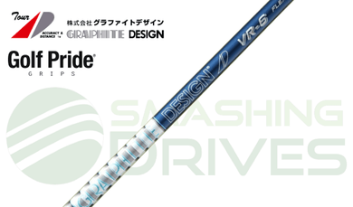 Graphite Design Tour AD VR 5 50g Shaft Package, with Golf Pride Grip & Adapter - Smashing Drives