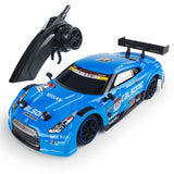 1/16 2.4G 4WD 28cm Drift Rc Car 28km/h With Front LED Light RTR Toy