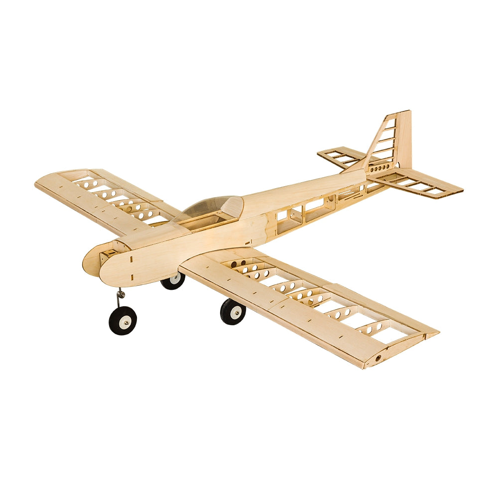 Dancing Wings Hobby DW T30 1400 1.4m Wingspan Balsa Wood Trainer RC Airplane DIY Model Kit