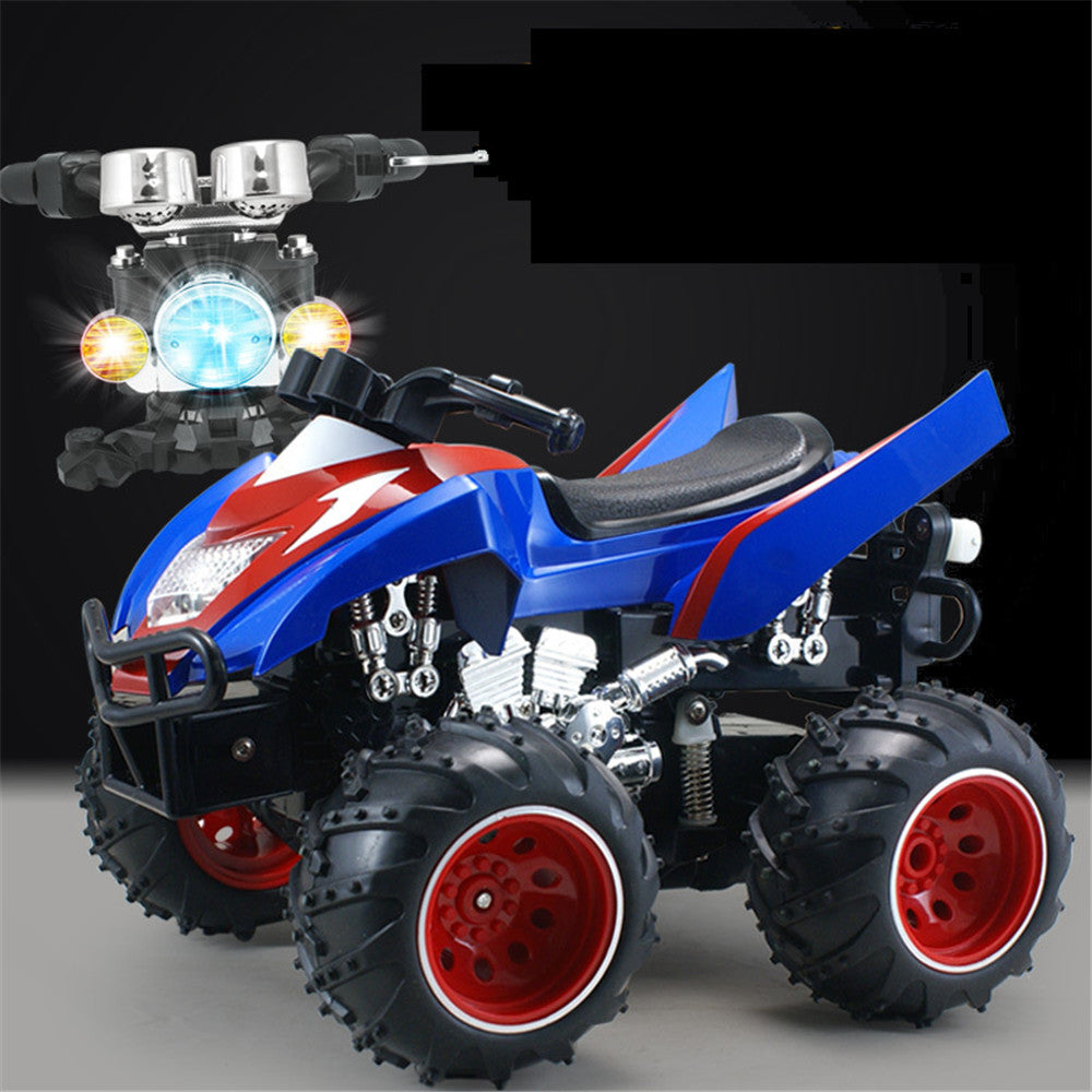 NEWQIDA 757-9026 1/12 2.4G 4D Rc Motorcycle Simulation 360 Degree Rotation Car Model RTR
