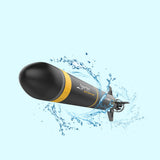 Electric RC Submarine Boat Torpedo Assembly Model Kits DIY Extracurricular Toys Kid`s Gifts Explore the Sea