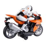 2.4G Rotate 360° RC Car MotorCycle Vehicle Model Children Toys With Music