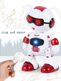 LeZhou Smart Touch Control Programmable Voice Interaction Sing Dance RC Robot Toy Gift For Children