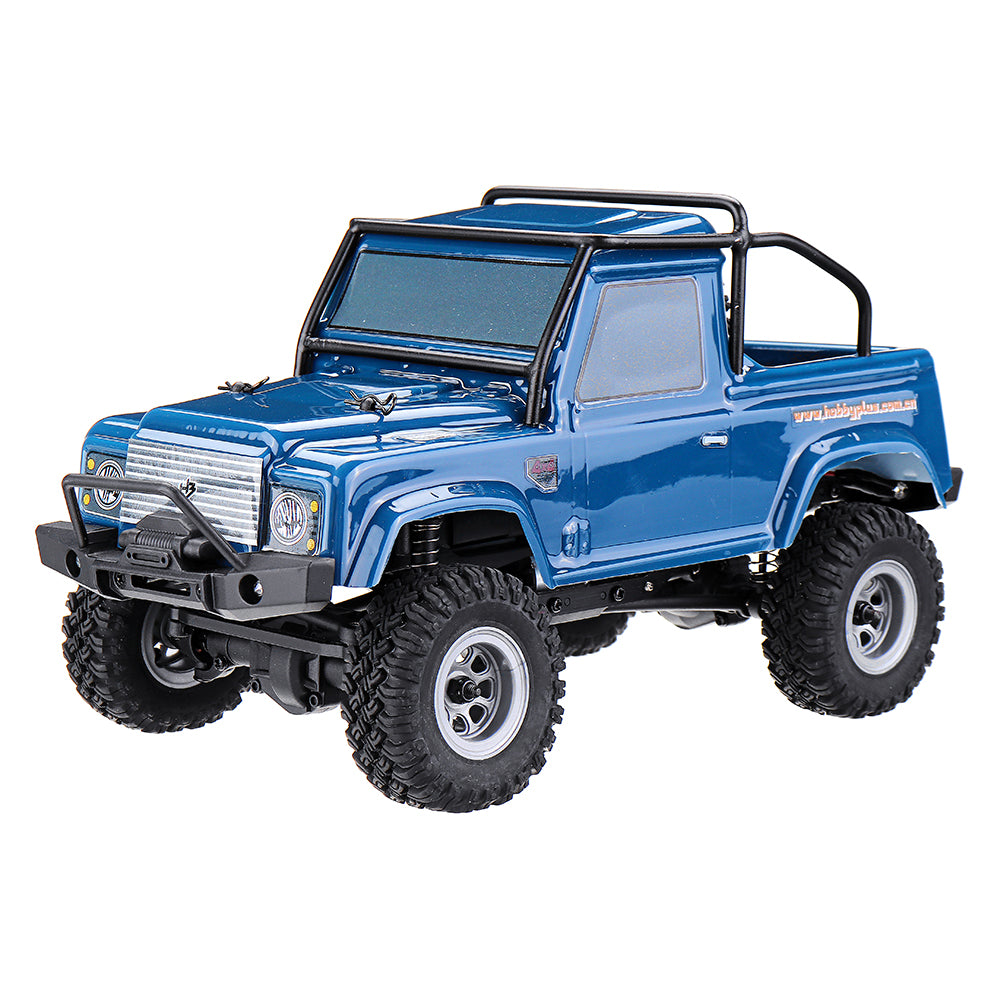 URUAV 1/24 4WD 2.4G Mini RC Car Crawler Model Vehicle Waterproof RTR With Two Battery