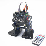 LOBOT DIY 4DOF Walking RC Robot Arduino Mixly Graphical Programming bluetooth Control Smart Robot Toy
