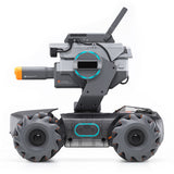 DJI Robomaster S1 STEAM DIY 4WD Brushless HD FPV APP Control Intelligent Educational Robot With AI Modules Support Scratch 3.0 Python Program
