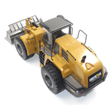 HuiNa Toys 583 6 Channel 1/18 RC Metal Bulldozer Charging RC Car Metal Edition