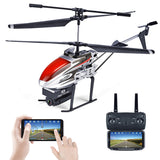 KY808 KY808W 2.4G 4CH 6 Aixs Hover Altitude Hold Wifi APP Control RC Helicopter With HD Camera
