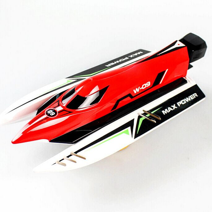 Wltoys WL915 2.4G Brushless High Speed 45km/h Racing RC Boat Toys (Red)