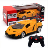 Upgrade version Super Racing Car door open Rc Speed Radio Remote Control Sports Car 1:24 Motor Xmas Gift Kid toy
