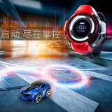 Mini 4 Channels RC Cars with Smart Watch Electric Remote Control Car Voice Command  Racing Games Drift Car Rechargeable