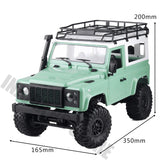 1/12 RC Rock Crawler D90 2.4G 4WD MN-90K MN-91K MN Model Truck Toys Unassembled Kit Defender Pickup Car