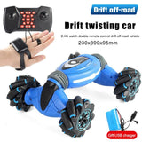 Stunt Gesture Remote Control twisted RC Car Off-Road Vehicle Drift Light Music Drift Dancing Double Side Driving Stunt Car gesto