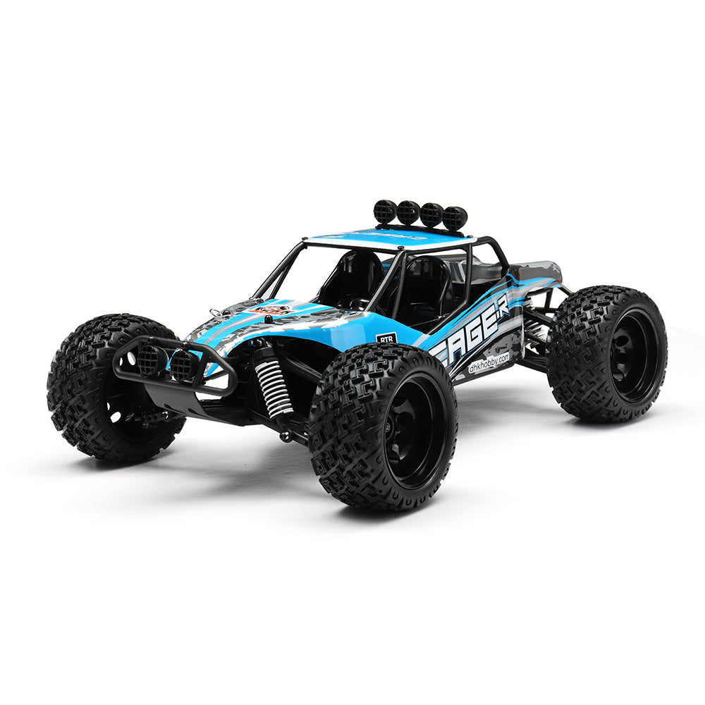 DHK Hobby 8142 1/10 2.4G 2WD 446mm 35km/h Brushed Rc Car 30-degree Slope Climbing Rock Crawler RTR