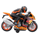 WeiLong Toys 300 1/18 2.4G Rc Motorcycle 360 Rotation with Light Sound Car RTR Model