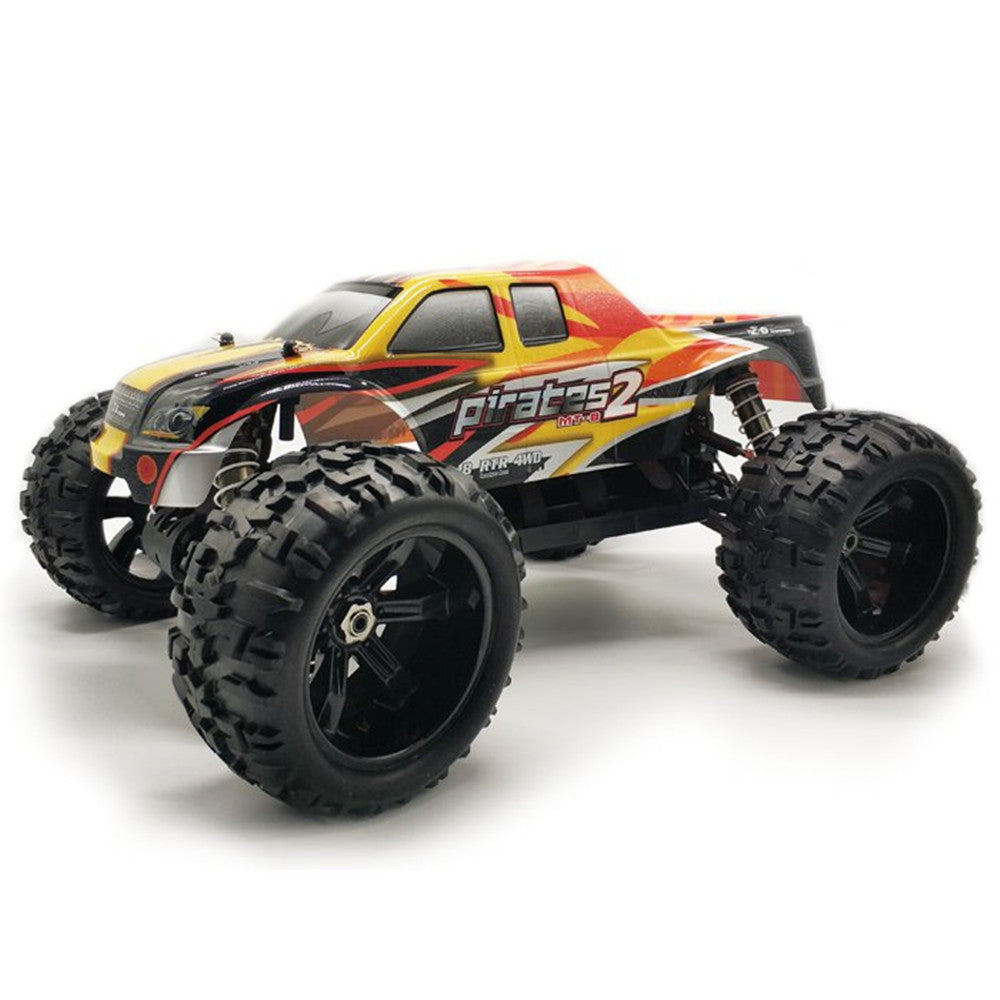 ZD Racing 9116 1/8 2.4G 4WD 80A 3670 Brushless Rc Car Monster Off-road Truck RTR Toy