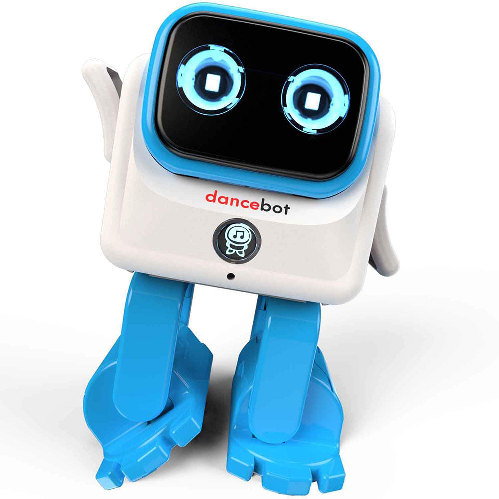 DanceBot AI Intelligent APP Bluetooth Control 360° Joint Rotation Sing Dance Smart RC Robot Toy