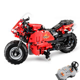 Double E C51024 RC Car Motorcycle Block Vehicle Models Toys
