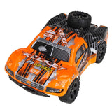 Remo 1621 1/16 2.4G 4WD Brushed Rc Car Off-road Short Course Truck Orange Color